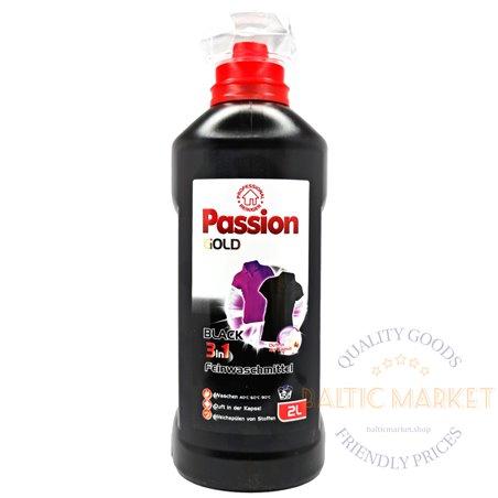 Passion Gold Black laundry detergent 2l