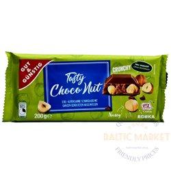 Edeka šokolaad sarapuupähklitega 200 gr