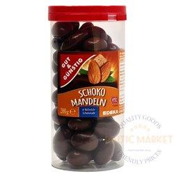 Edeka mandlid piimašokolaadis 200 gr