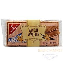 Edeka вафли с начинкой из ванильного крема 250 г