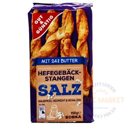 Edeka salt stick cookies 150 g