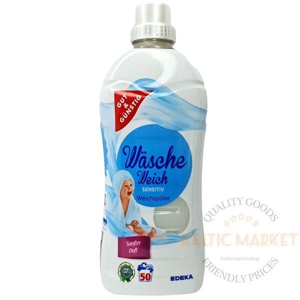 Edeka кондиционер для белья Sensitiv 1,5 л