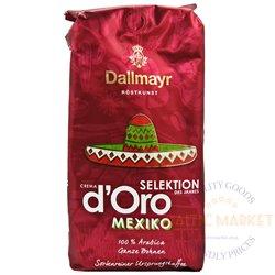 Dallmayr d'Oro Mexiko kavos pupelės 1 kg