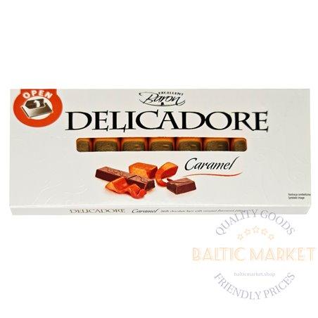 Excellent Baron DELICADORE šokolāde ar karameļu garšu 200 gr