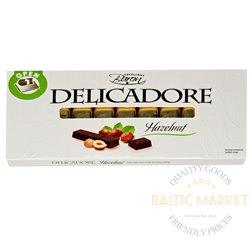 Exellent Baron DELICADORE chocolate with nut cream filling 200 gr