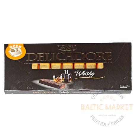 Exellent Baron DELICADORE шоколад со вкусом сливочного виски 200 гр
