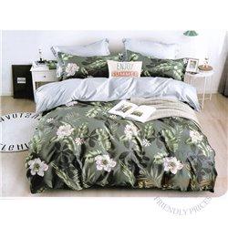 Cotton satin bed linen complex 160x200, 4 parts (CT103)