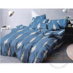 Cotton satin bed linen complex 160x200, 4 parts (CT106)