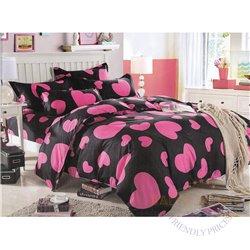 Cotton satin bed linen complex 160x200, 4 parts (CT108)