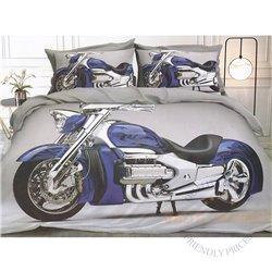 Cotton satin bed linen complex 160x200, 4 parts (CT110)