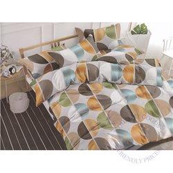 Puuvillasatiinist voodipesukompleks 160x200, 4 osa (CT112)