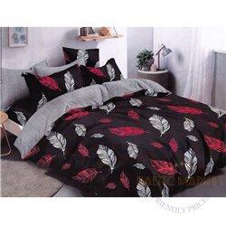 Комплект постельного белья хлопок сатин 160х200, 4 части (CT113)