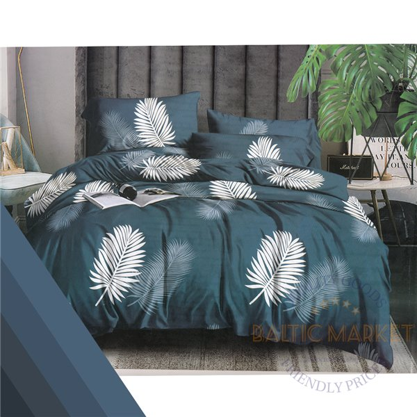 Cotton satin bed linen complex 160x200, 4 parts (CT115)