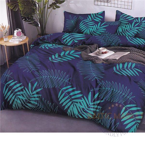 Cotton satin bed linen complex 160x200, 4 parts (CT114)