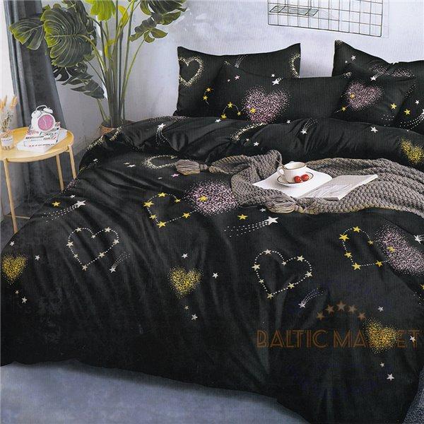 Комплект постельного белья хлопок сатин 200X220, 4 части (CT125)