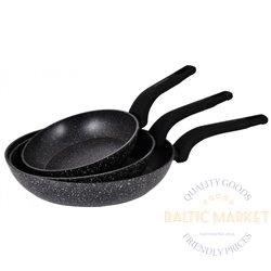 Klausberg набор сковородok 20см 24см 28см (KB-7438)