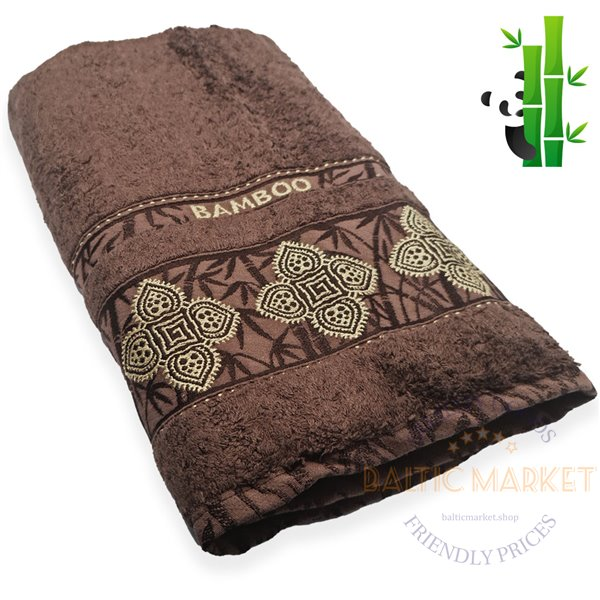 Бамбуковое полотенце 70X140см (BBR-1140)