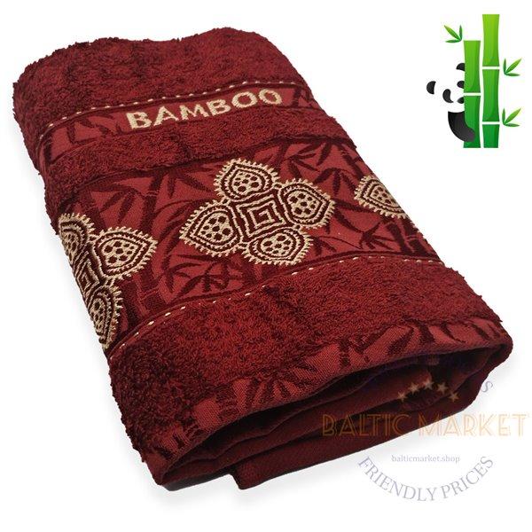 Bamboo towel 50X90cm (BSA-190)
