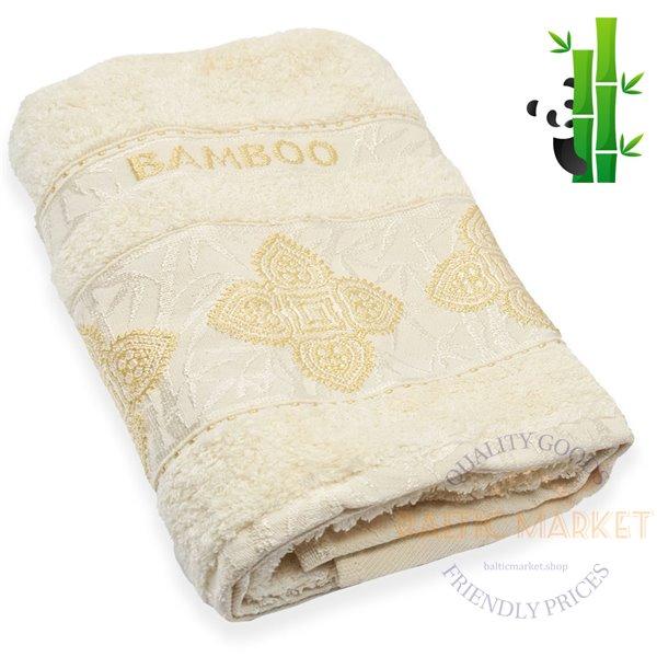 Бамбуковое полотенце 50X90см (BBA-190)