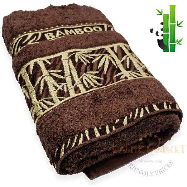 Bamboo towel 50X90cm (BB6-290)