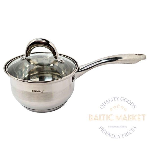 KingHoff Boiler 1.7 L, 16cm with a lid (KH-1096-17-1)