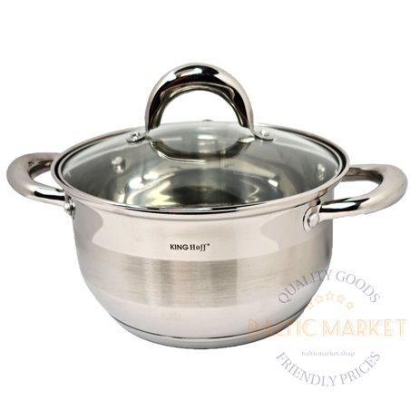 KingHoff Boiler 2.4 L, 18cm with a lid (KH-1096-18)