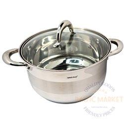 KingHoff Boiler 5,6 L, 24cm with a lid (KH-1096-24)