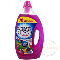 Weißer Riese gel for colored laundry 3.5 l, 70 washes