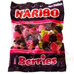 Haribo Berries Gummy Candy 200g