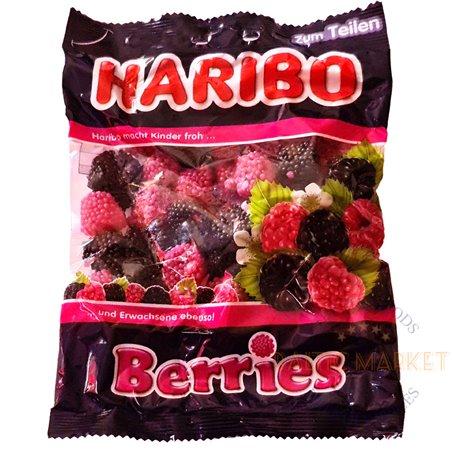 Haribo Berries kummikommid kuldkarud 200 gr