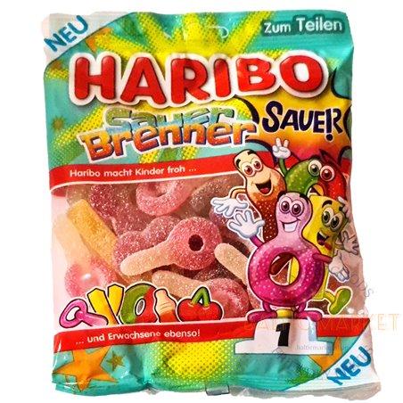 Haribo Sauer Brenner Gummy Candy 175g