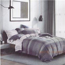 Cotton satin bed linen complex 200x220, 4 parts (CT135)