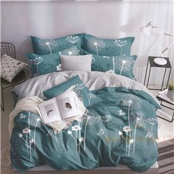 Cotton satin bed linen complex 200x220, 4 parts (CT137)
