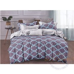 Комплект постельного белья хлопок сатин 200X220, 4 части (CT143)