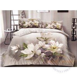 Cotton satin bed linen complex 200x220, 4 parts (CT144)