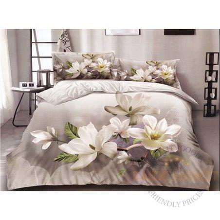 Комплект постельного белья хлопок сатин 200X220, 4 части (CT144)