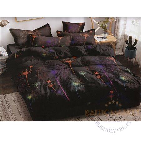 Puuvillasatiinist voodipesukompleks 200x220, 4 osa (CT145)