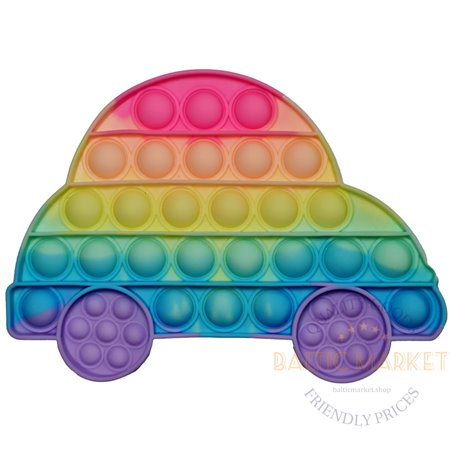 POP IT anti-stress toy car