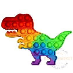 POP IT antistresa rotaļlieta dinozaurs