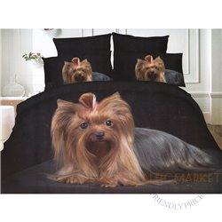 Cotton satin bed linen complex 160x200, 4 parts (CT148)