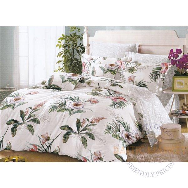 Комплект постельного белья хлопок сатин 200X220, 4 части (CT150)