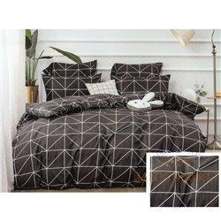Cotton satin bed linen complex 200x220, 4 parts (CT157)