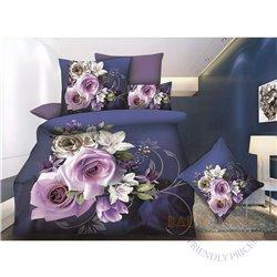 Cotton satin bed linen complex 200x220, 3 parts (CT173)