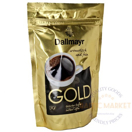 Dallmayr Gold растворимый кофе 75 гр