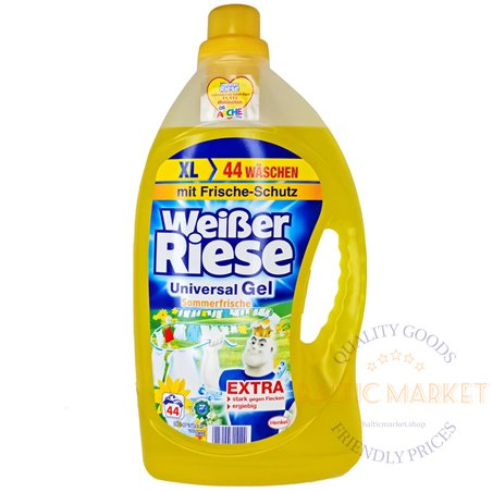 Weisser Riese universal gel for laundry 3.2l,  washes 44