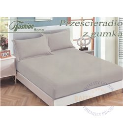 Cotton satin bed sheet with rubber 200x220cm (CT-78)