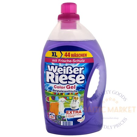 Weisser Riese gel for colored laundry 3.2 l, 44 washes