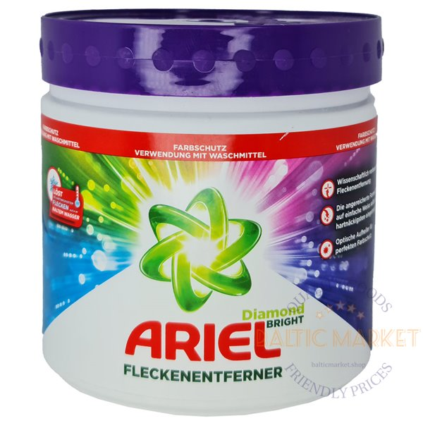 Ariel Fleckenentferner dėmių valiklis spalvotiems skalbiniams 500 gr