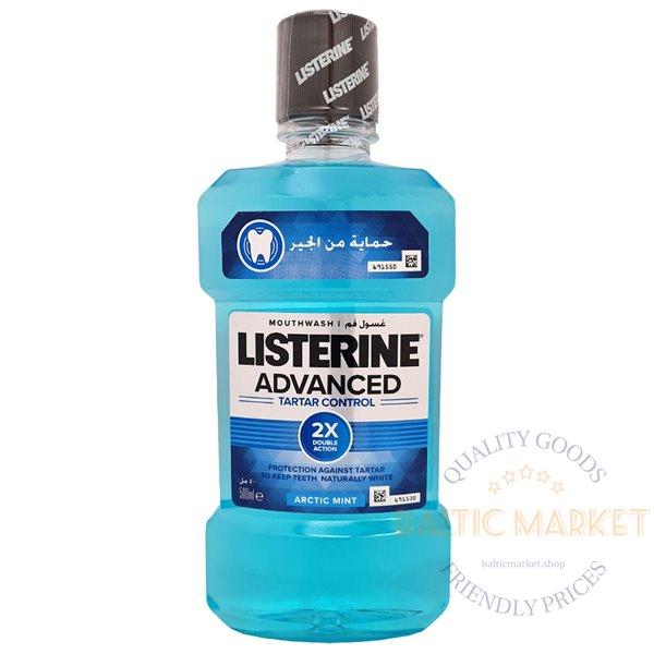 Listerine burnos skalavimo skystis smooth mint 500ml