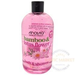 Anovia shower gel and bath foam  Bamboo Lotus 500 ml